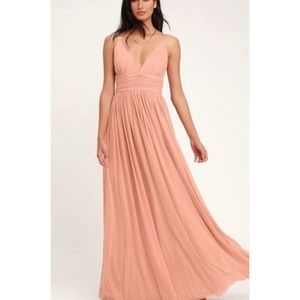 Lulu's Queen Of The Evening Bridesmaid/Prom Dress